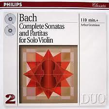 Bach - Complete Sonatas And Partitas For Solo Violin CD 1 No. 2