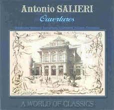Antonio Salieri Ouvertures