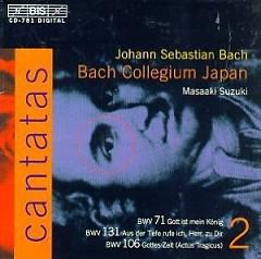 Bach - Cantatas Vol 2 CD 1