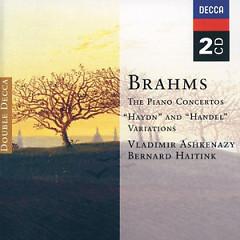 Brahms - The Piano Concertos CD 2