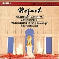 Complete Mozart Edition Vol 22 - Oratorios & Masonic Music CD 2