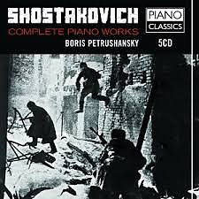 Shostakovich - Complete Piano Music CD 2 - Boris Petrushansky