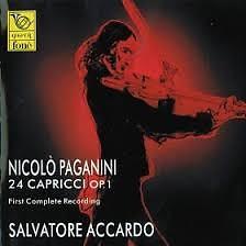 Nicolo Paganini - 24 Capricci For Violin Solo Op. 1 Dics 1