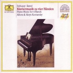 Piano Music For Four Hands - Debussy, Ravel CD 1