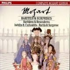 Complete Mozart Edition Vol 45 - Rarities & Surprises CD 2 No. 1