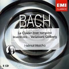 Le Clavier Bien Tempere - Inventions - Variations Goldberg CD 5 No. 1