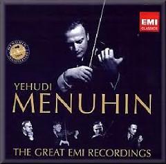 Yehudi Menuhin: The Great EMI Recordings CD 33