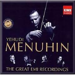 Yehudi Menuhin: The Great EMI Recordings CD 38