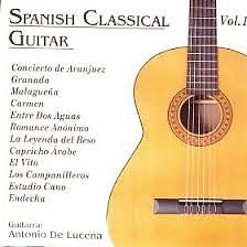Spanish Classical Guitar 1 - Antonio De Lucena