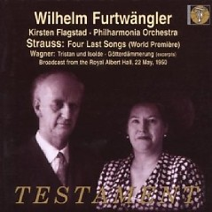 Strauss Four Last Songs - World Premiere