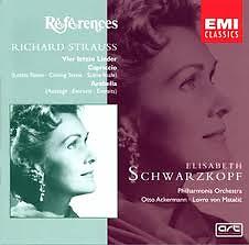 Strauss Four Last Songs - Vier letzte Lieder, Arabella, Capriccio