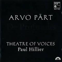 Arvo Part - De Profundis Theatre Of Voices CD 2