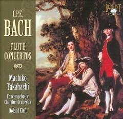 C.P.E. Bach - Flute Concertos