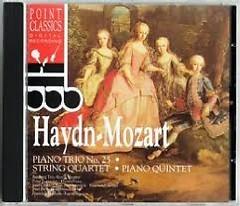 Haydn - Mozart Piano Trio No. 25 String Quartet - Piano Quintet