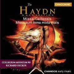 Haydn The Complete Mass Edition Vol 7 - Masses (No. 1) - Richard Hickox,Collegium Musicum 90