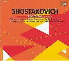 Shostakovich - Complete Concertos CD 2 - Violin