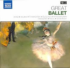 Naxos 25th Anniversary The Great Classics Box #2- CD 10 Petrushka & Rite Of Spring (No. 1)