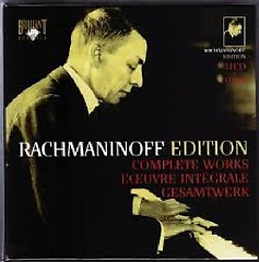 Rachmaninoff Edition - Complete Works CD 21 (No. 1) - Santiago Rodriguez