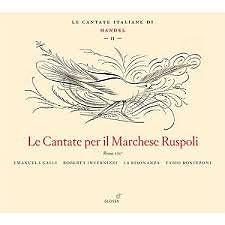 Handel - Le Cantate Per Il Marchese Ruspoli (CD 1)