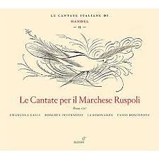 Handel - Le Cantate Per Il Marchese Ruspoli (CD 2)