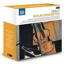 Naxos 25th Anniversary The Great Classics Box #5 - CD 4 Mendelssohn & Bruch & Vieuxtemps