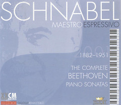 Schnabel – Maestro Espressivo - The Complete Beethoven Piano Sonatas Vol 2 (CD 1) - Artur Schnabe