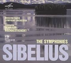 Sibelius - The Symphonies CD 1 - Gennady Rozhdestvensky,Moscow Radio Symphony Orchestra