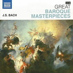 Naxos 25th Anniversary The Great Classics Box #8 - CD 3 Bach - Brandenburg Concertos 4, 5 & etc