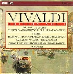 Vivaldi Edition Vol. 1 - Op. 1 - 6 Including L'Estro Armonico & La Stravaganza Disc 1 (No. 1)