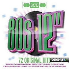 80s 12 Inches - 72 Original Hits CD 6