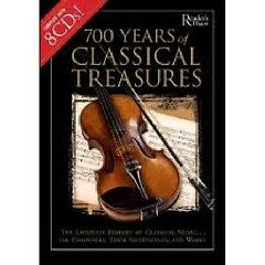 700 Years of Classical Treasures Disc 2 The Baroque Period (Many Fans)