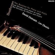Beethoven - Sonatas For Piano And Violin (CD 2) - David Oistrakh,Lev Oborin