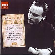 Arturo Benedetti Michelangeli - The Master Pianist CD 1 (No. 1)