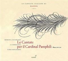 Handel - Le Cantate Per Il Cardinal Pamphili (No. 2) - Fabio Bonizzoni,La Risonanza Orchestra