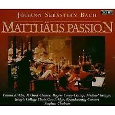 Bach - Matthaus Passion CD 1 (No. 3)