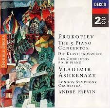 Prokofiev - The 5 Piano Concertos (CD 1)