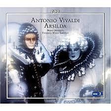 Antonio Vivaldi - Arsilda Regina Di Ponto CD 1 (No. 1) - Federico Maria Sardelli,Orchestra Da Camera Italiano