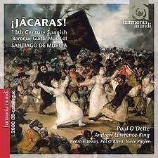 Jácaras - 18th Century Spanish Baroque Guitar Music Oof Santiago De Murcia (CD 2) - Paul O'Dette,Andrew Lawrence-King