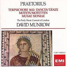 Terpsichore 1612 -  Dances; Motets; Musae Sioniae - David Munrow,Early Music Consort Of London