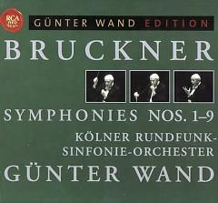 Bruckner - Complete Symphonies Nos 1 - 9 Disc 7 - Günter Wand,Kolner Rundfunk Sinfonie Orchester