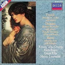 Debussy, Franck, Ravel - Sonata For Flute, Viola & Harp; Sonata For Violin & Piano Etc - Kyung-wha Chung,Melos Ensemble