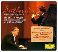Beethoven - Piano Concerto No 5 And Choral Fantasy  - Claudio Abbado,Maurizio Pollini,Berlin Philharmonic Orchestra