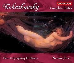 Tchaikovsky - Orchestral Suites 1 - 4 CD 1 - Neeme Jarvi,Detroit Symphony Orchestra
