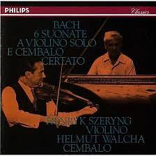 Bach - 6 Suonate A Violino Solo E Cembalo Certato CD 2 - Henryk Szeryng,Helmut Walcha