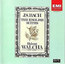 Bach  - The English Suites CD 2 (No. 2) - Helmut Walcha