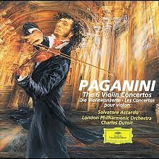 Paganini - The 6 Violin Concertos CD 1 - Charles Dutoit,Salvatore Accardo,London Philharmonic Orchestra