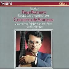 Rodrigo - Concierto De Aranjuez; Fantasía Para Un Gentilhombre - Pepe Romeo,Sir Neville Marriner,Academy Of St Martin InThe Fields