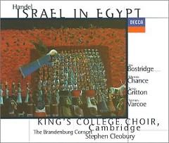 Handel - Israel In Egypt CD 1 - Stephen Cleobury,Brandenburg Philharmonic Orchestra