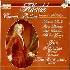 Handel - Chandos Anthems 2 (No. 1) - Harry Christophers,Various Artists