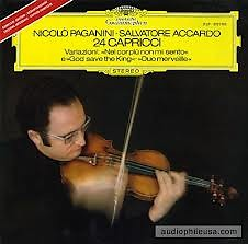 Paganini - 24 Caprices For Solo Violin (No. 2) - Salvatore Accardo